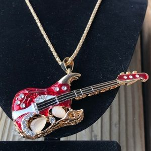 New Fab Betsey Guitar Necklace!